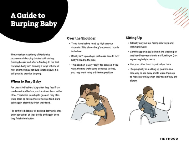 A Guide to Burping Baby Preview Image