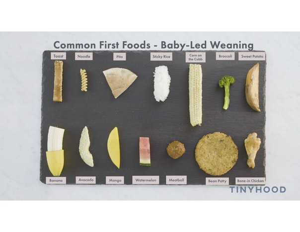 Baby-Led Weaning Foods Preview Image