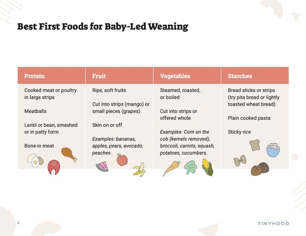 Best First Foods for Baby-Led Weaning Preview Image