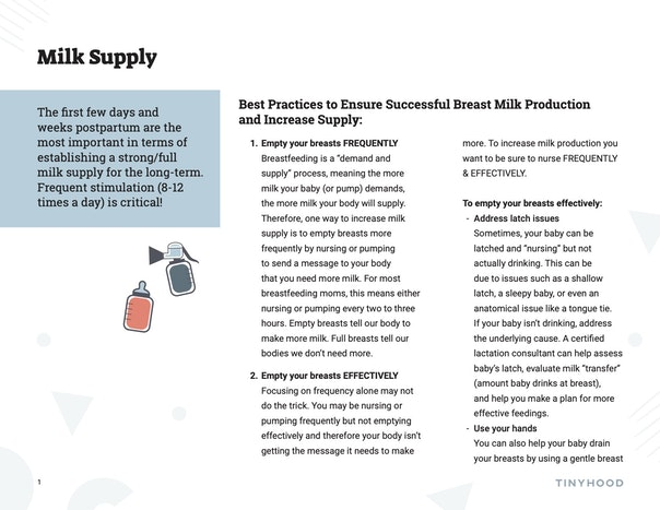 Best Practices to Ensure Successful Milk Production and Increase Supply Preview Image
