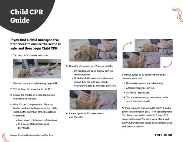 Child CPR Guide Preview Image