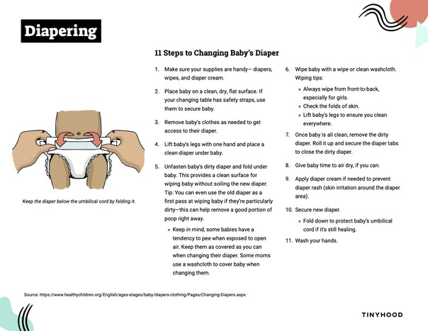 Diapering Preview Image