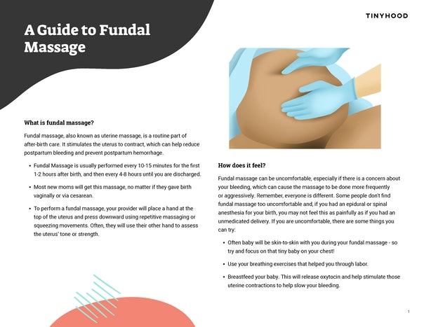 Fundal Massage Preview Image