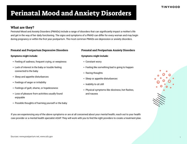 Perinatal Mood & Anxiety Disorders Preview Image