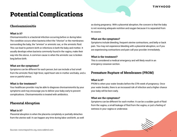 Potential Complications Preview Image