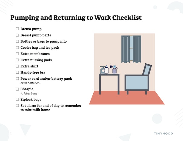 Pumping Checklist Preview Image