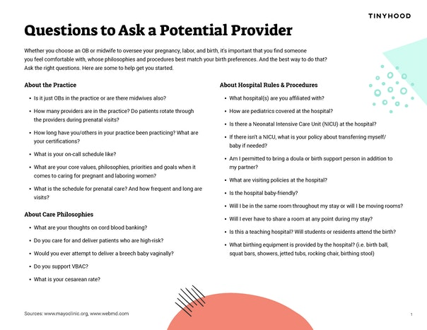 Questions to Ask a Potential Provider Preview Image