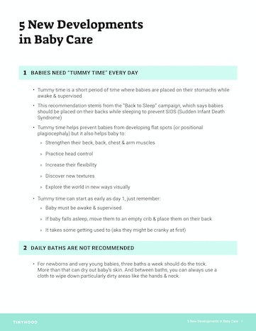 What's New in Baby Care Preview Image